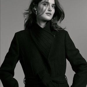 Aritzia Babaton Spencer Wool Cashmere Coat